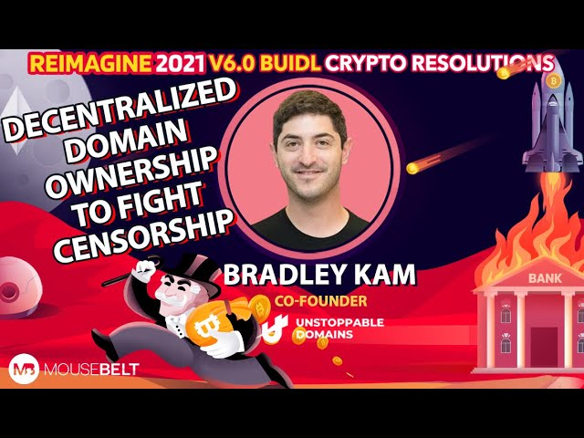 Bradley Kam - Unstopable Domains - Decentralized Domains