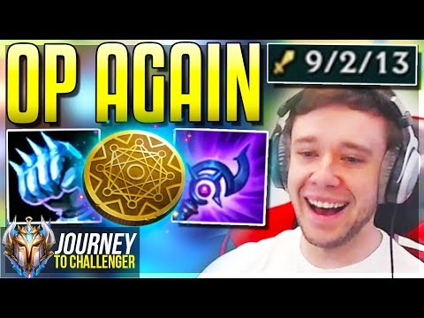 WHY DIDN&39;T I PLAY THIS CHAMPION SOONER?? - Journey To Challenger  LoL