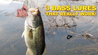 3 Best Bass Lures That Work For Summer | Bass Fishing