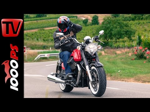 King Versus California King >> Video: 1000PS Test - Moto Guzzi MGX-21 Flying Fortress vs ...