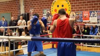 TaE nyrkkeily Mohamed Laguir vs. Dimitrius Semjonovs, TVS 3-0