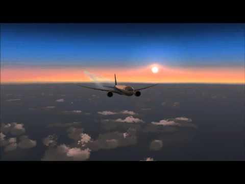 [FSX] PMDG 777-300ER | Shanghai Pudong (ZSPD) to Tokyo Haneda (RJTT) Part 2