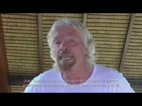 Biyonario Richard Branson cu concierto na frontera di Venezuela