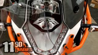 1190 Diaries: Touratech Headlight Cover Review