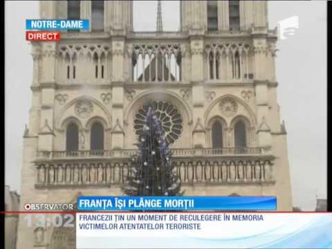 Franţa îşi plânge morţii
