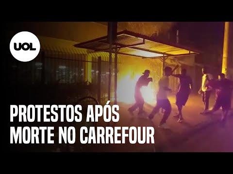 Morte no Carrefour: manifestantes protestam em supermercados pelo Brasil