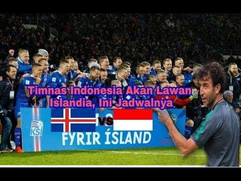 Timnas Indonesia Akan Lawan Islandia Ini Jadwalnya