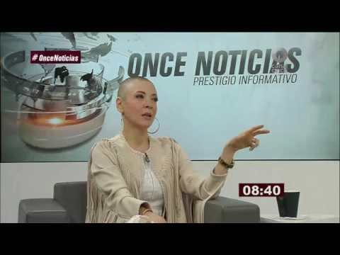 Entrevista con #EdithGonzalez en #CanalOnceTV #OnceNoticias