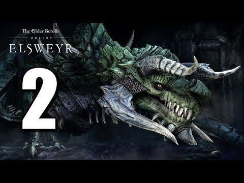 Let's Play Elder Scrolls Online: Elsweyr BLIND (Gameplay / Walkthrough) [Part 2]