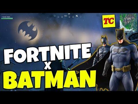 Fortnite X Batman NUEVA Ciudad De GOTHAM 😮 Pack BATMAN Y SKIN CAT WOMAN
