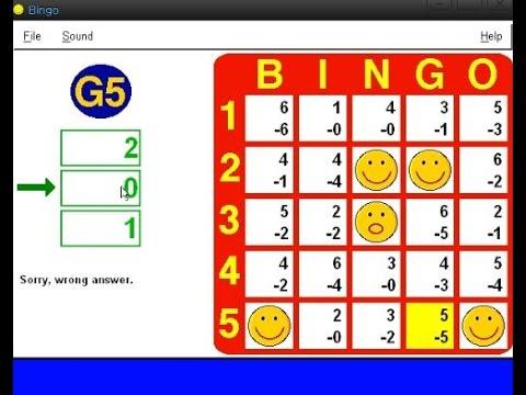 Bingo Subtraction (Windows game 1998)