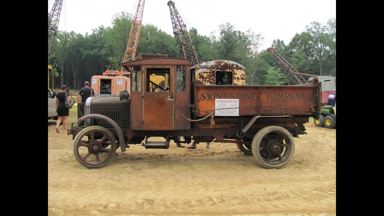 1927 Indiana Truck with 12459 unrestored miles. hauling & dumping ...