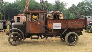 1927 Indiana Truck with 12459 unrestored miles. hauling & dumping dirt. 8/13/2011...