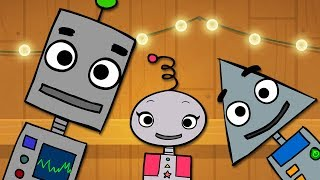🤖Robot Finger Family | NEW ROBOT DANCE |  Mother Goose Club Playhouse Kids Song