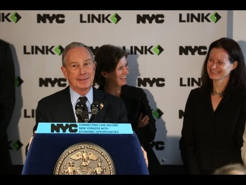 Mayor Bloomberg Announces New Initiative to Connect Low-Income NYers with Economic Opportunities