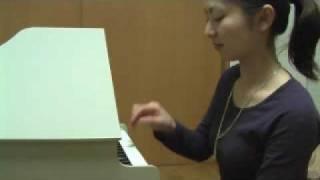 ピアノ・カレンダー 4月の曲 2009.3.30 上田祥子 音楽教室スタジオにて...