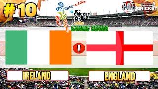 Icc Cricket World Cup 2015 (gaming Series)   Pool B Match 10 Ireland V England