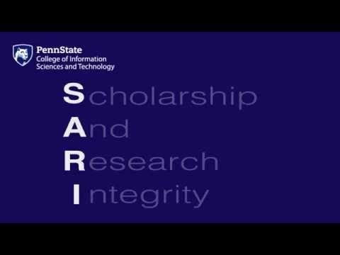 SARI 2016: Day 1 -  Ethics and General Standards of Conduct (Dr. Don Shemanski)