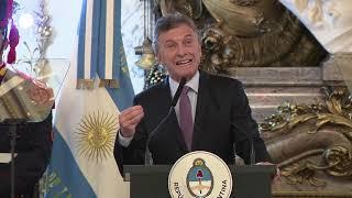 El presidente Macri encabezó el acto de entrega del Premio Exportar 2018