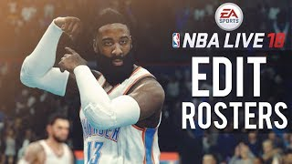 NBA Live 18 Now Lets You Edit Rosters...But With A Catch!!! Did NBA Live 18 Drop The Ball?
