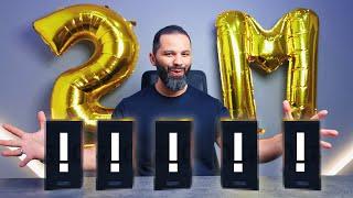 جوائز بمناسبة 2 مليون مشترك  + جولة الأستديو !