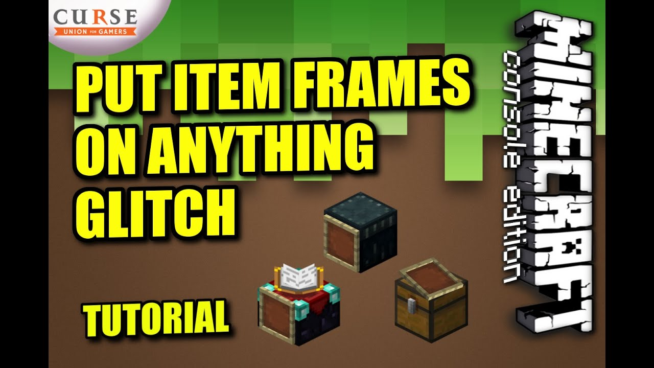 minecraft xbox one item frame limit