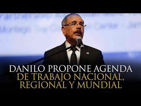 Danilo propone agenda de trabajo nacional, regional y mundial para avanzar hacia futuro del turismo