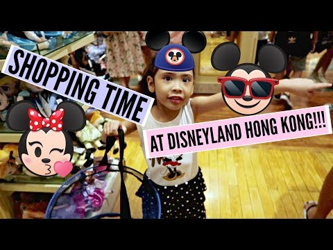 DAY 2: SHOPPING TIME at DISNEYLAND HONG KONG!!! (Part 3) - MichelleFamilyDiary
