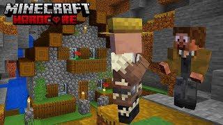 Przepiękna Wioska w GÓRACH! - HardCore - [22] (Minecraft 1.14 Na DataPackach)