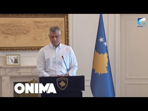 Konferenca e presidentit Hashim Thaçi
