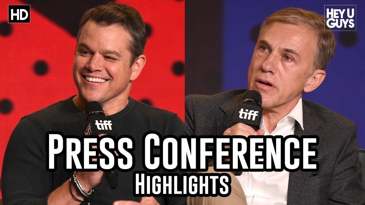 Download Downsizing Press Conference | Matt Damon | Christoph Waltz | Hong Chau  - TIFF17