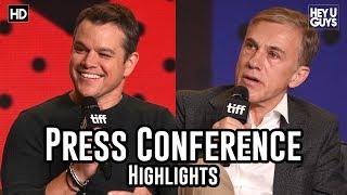 Downsizing Press Conference | Matt Damon | Christoph Waltz | Hong Chau  - TIFF17