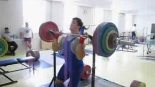 Berestov press 150kg
