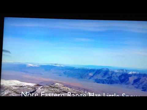 UFO (?) Over the Owens Valley, CA, In Aerial Video (1/2)