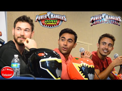 RangerStop 2019: Dino Charge Vs Ninja Steel Cast Panel