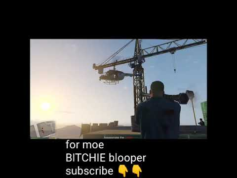 #shorts GTA 5 GRAND THEFT AUTO 5 blooper funny gaming clip by BITCHIE bitch #short