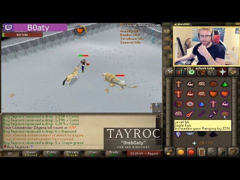 B0aty Almost Dies On HCIM!! BEST RUNESCAPE TWITCH MOMENTS COMPILATION #143