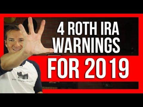 🚩 4 Roth IRA Warnings 2019 | FinTips 🤑
