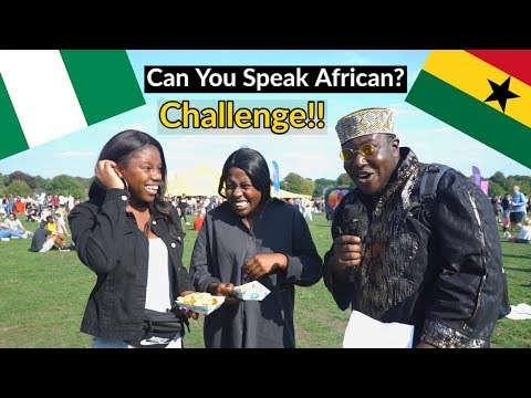 Can You Speak African ? - (Godiva Festival 2018) Ep. 1 (Accent Challenge)