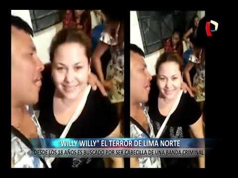 """Willy Willy"": ranqueado cabecilla de banda criminal aterroriza a Lima Norte"
