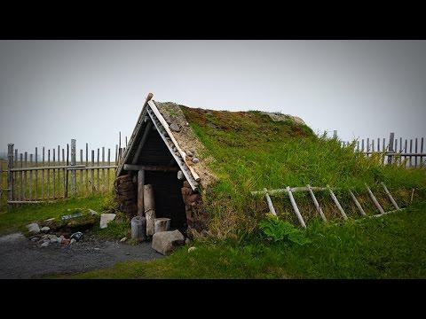 GGC - 22a - Viking Encampment in Canada - L'Anse aux Meadows National Historic Site