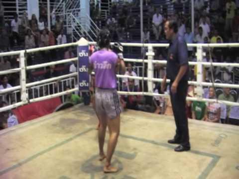 Su Jeong (Korea) Sinbi Muay Thai fights @ Bangla Stadium July 7th
