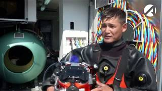 Астраханские водолазы устанавливают мировые рекорды