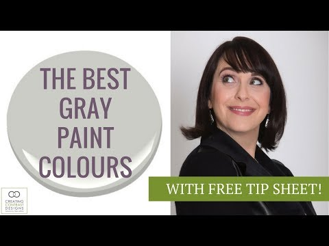Best Gray Paint Cololurs by Benjamin Moore
