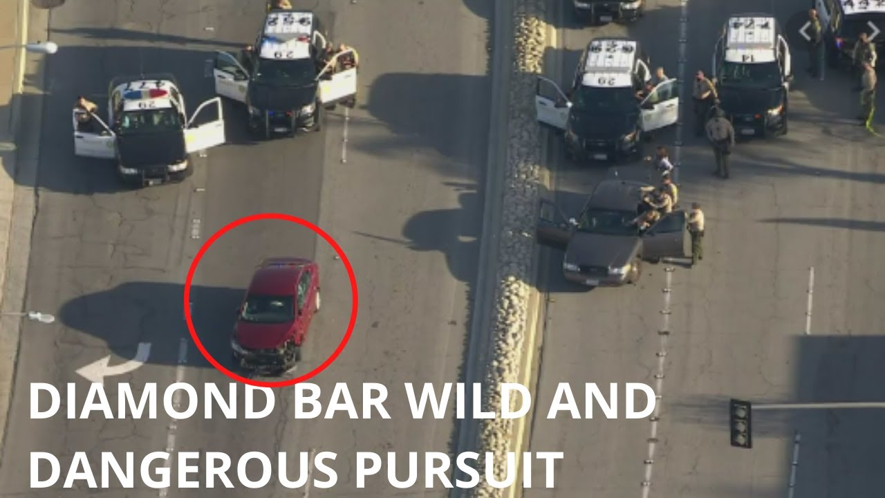 Pomona Woman In Custody After Crazy Pursuit, Standoff With 9 yr old Child In Vehicle