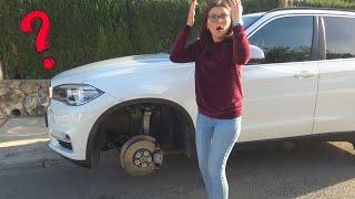 Mama verloor het stuur op BMW X5