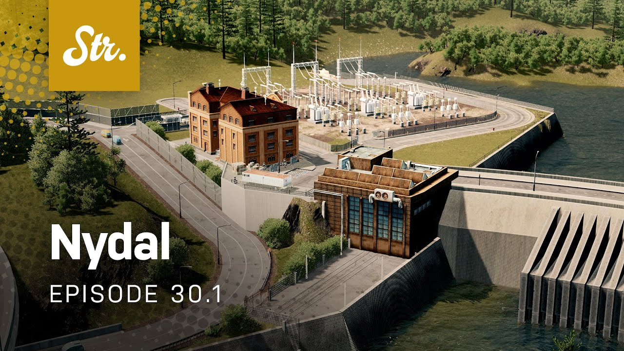 Dam: Maintenance Buildings — Cities Skylines: Nydal — EP 30 1