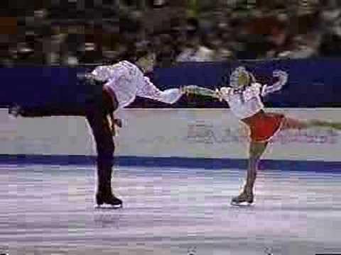 Dorota Zagorska and Marius Siudek 1998 Winter Olympics SP