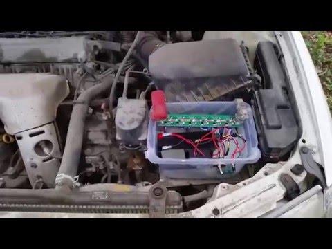 Diy Smart Intelligent Super Capacitor Hybrid Car