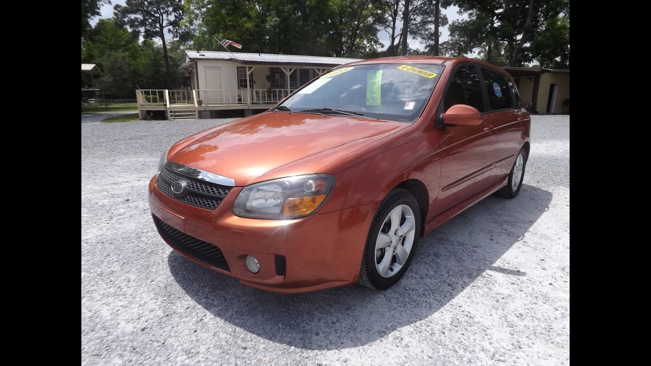 2008 kia spectra5 hatchback for sale leisure used cars 850 265 9178